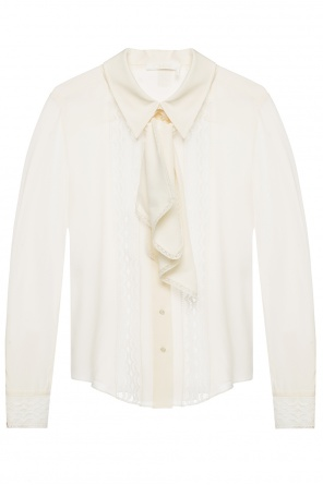 Lacing detail shirt od Chloe