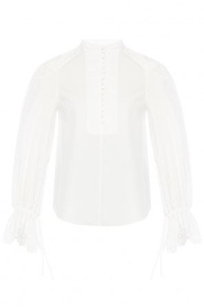 Top with lace cuffs od Chloe