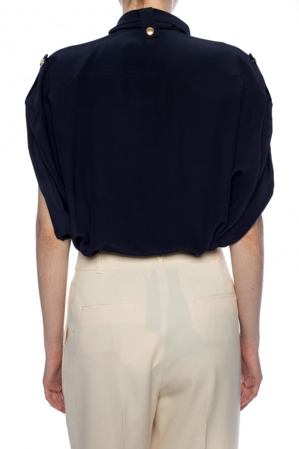 Silk top with pockets od Chloe