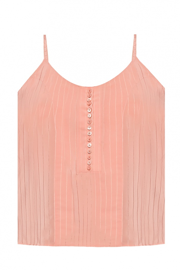Chloé Tank top with buttons