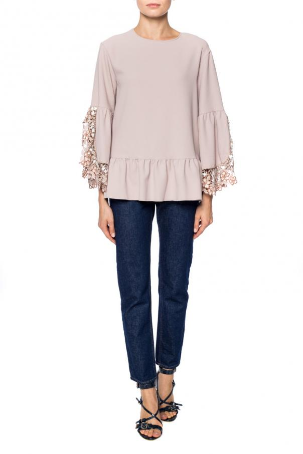 Top with a lace finish od See By Chloe