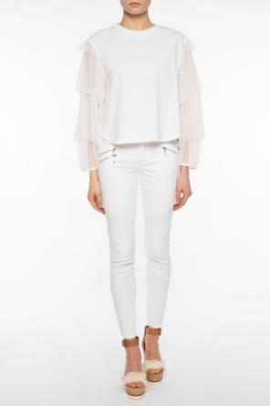 Top with lace sleeves od See By Chloe
