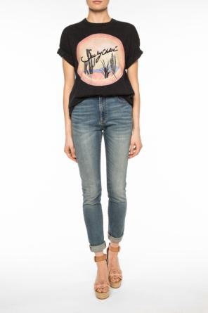 Printed oversize t-shirt od See By Chloe