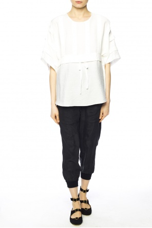 Belted waist t-shirt od See By Chloe