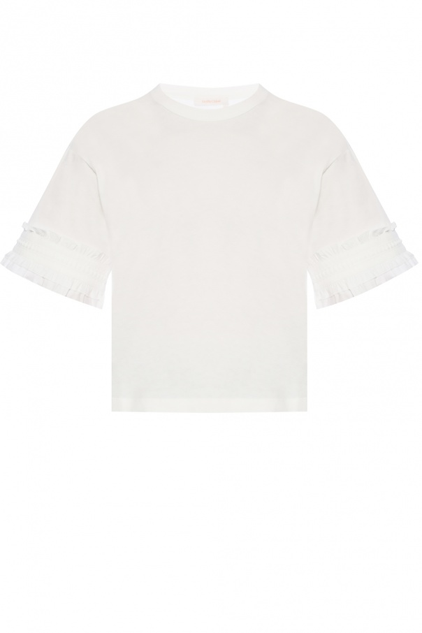 See By Chloe Decorative sleeves T-shirt
