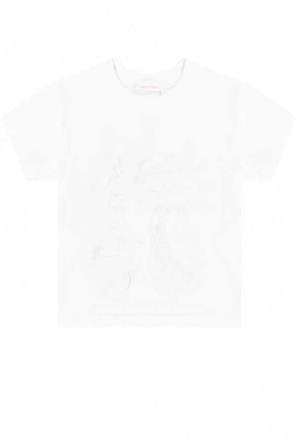See By Chloe Logo T-shirt