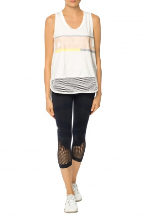Logo-printed top od ADIDAS by Stella McCartney