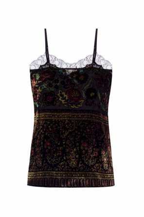 Floral-printed tank top od Etro