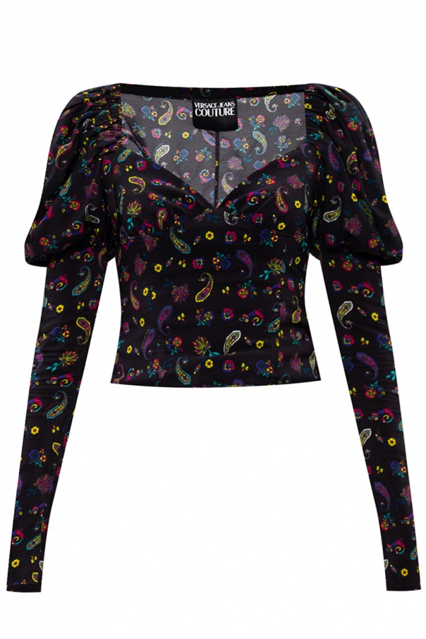Versace Jeans Couture Puff sleeve top