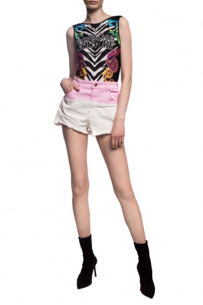 Printed top od Versace Jeans Couture