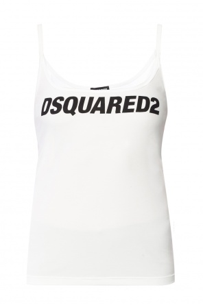 Tank top with logo od Dsquared2
