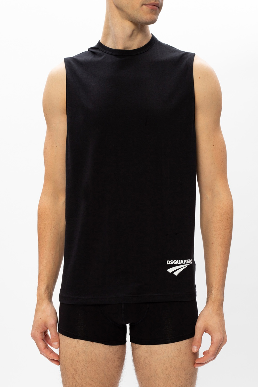 Dsquared2 Sleeveless T-shirt with logo
