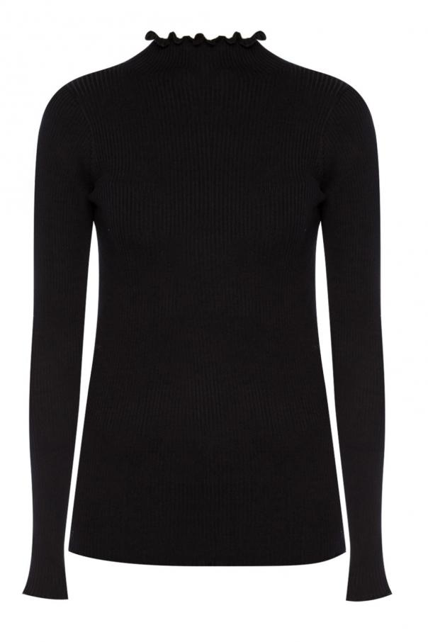 Frill turtleneck sweater od AllSaints