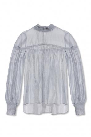 'elita' top with high neck od AllSaints