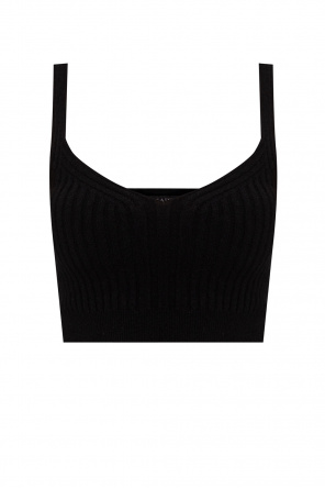 'enya' ribbed tank top od AllSaints