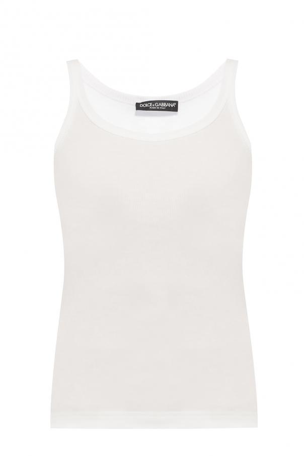 1450cf4aba650 Ribbed tank top Dolce   Gabbana - Vitkac shop online