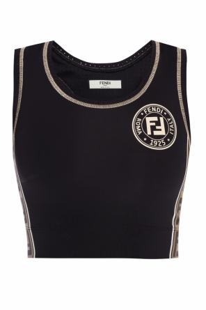 Sports bra with logo od Fendi