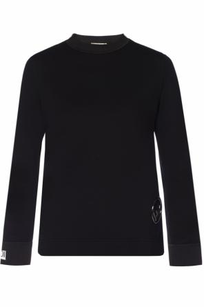 Cut-out asymmetrical sweatshirt od Fendi