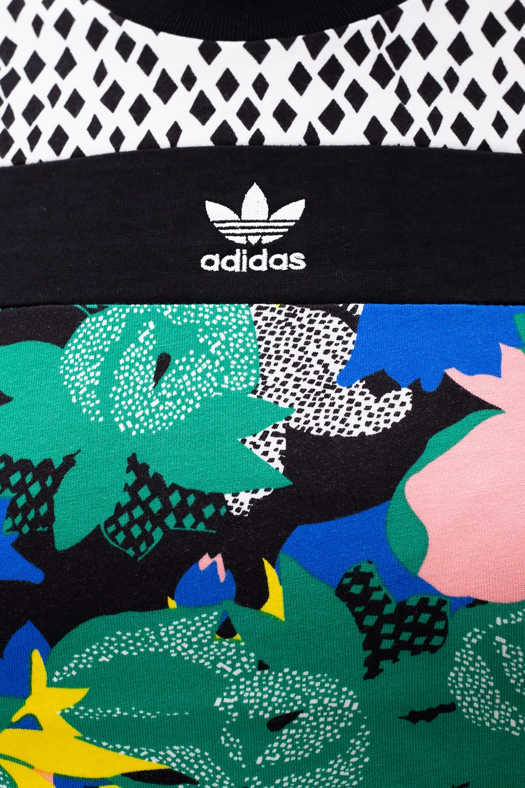ADIDAS Originals Cropped T-shirt with logo