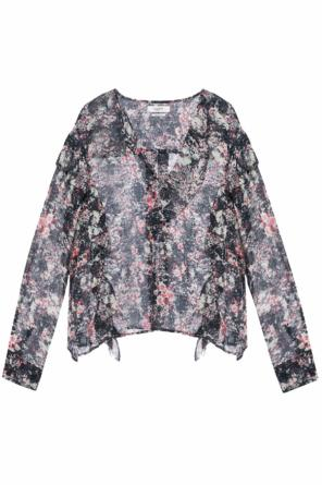 Patterned blouse with ruffles od Isabel Marant Etoile