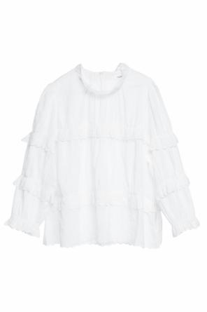 Sheer blouse with band collar od Isabel Marant Etoile