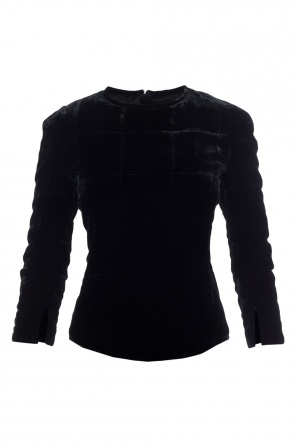 Quilted velvet top od Isabel Marant