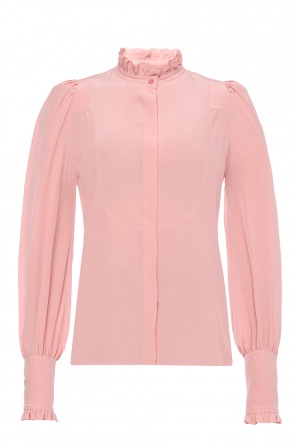 Shirt with ruffle collar od Isabel Marant