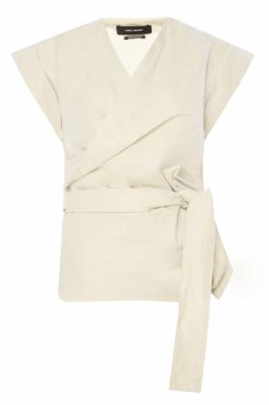 Belted waist top od Isabel Marant