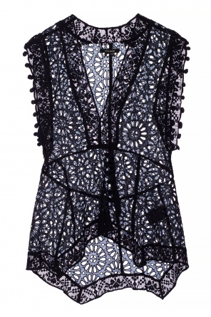 Sleeveless openwork top od Isabel Marant