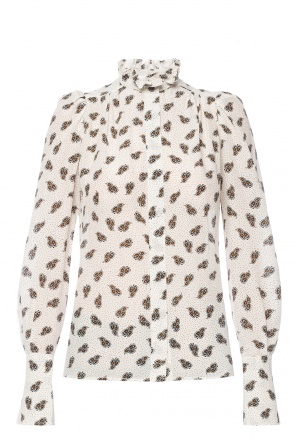 Shirt with padded shoulders od Isabel Marant