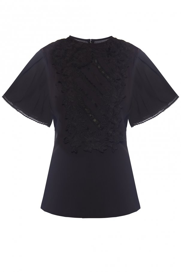 Lace trim top od Isabel Marant