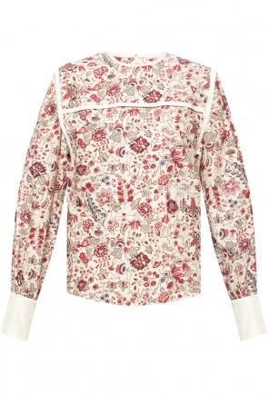 Floral-printed top od Isabel Marant