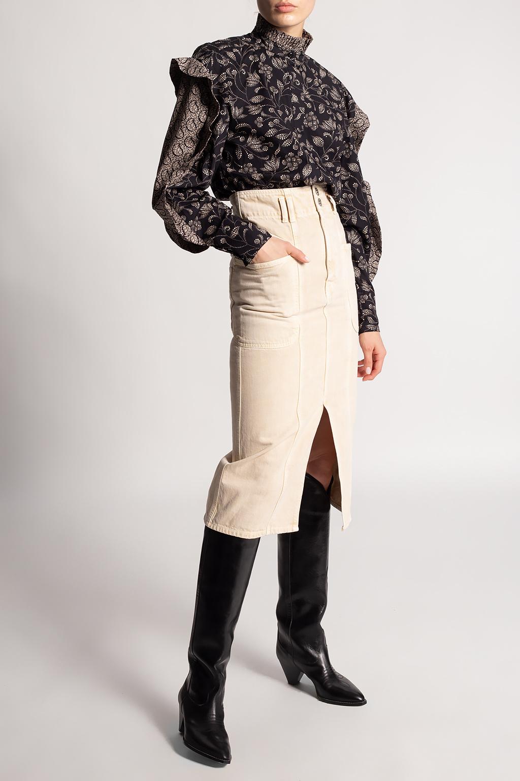 Isabel Marant Etoile Patterned top
