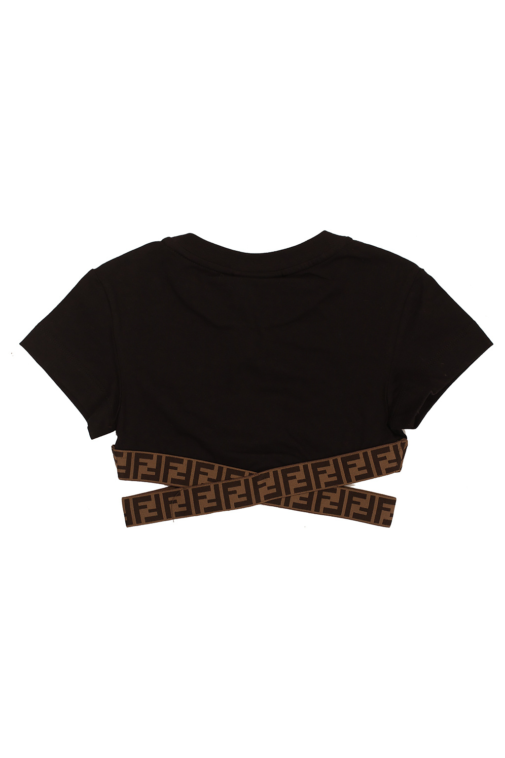 Fendi Kids Cropped top with logo