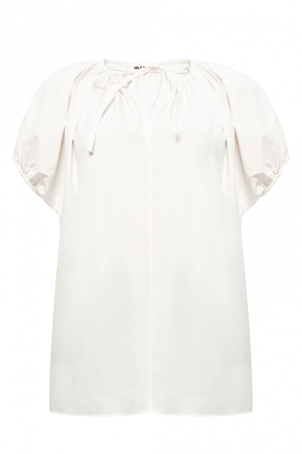 JIL SANDER Tie-up top
