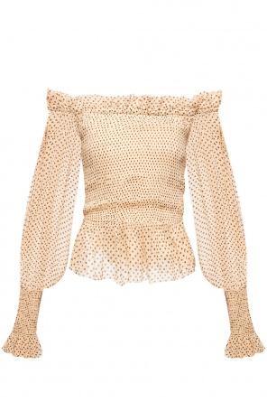 'lara' denuded shoulders top od AllSaints