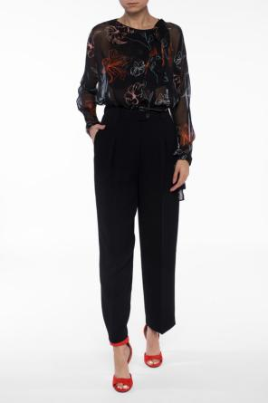 Patterned sheer blouse od Diane Von Furstenberg