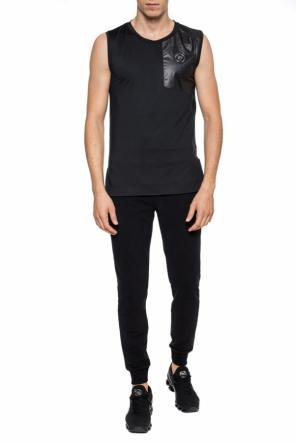 Sleeveless t-shirt with logo od Plein Sport