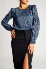 Michael Michael Kors Patterned top with lurex thread