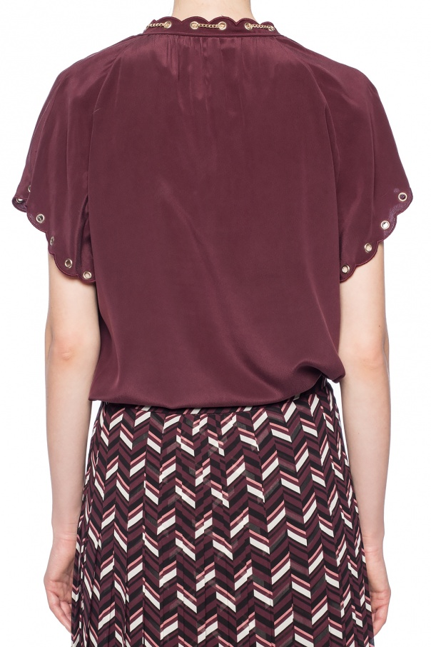 Short sleeve top od Michael Kors