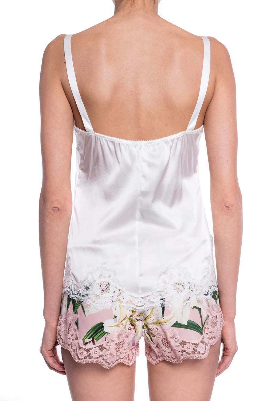 Dolce & Gabbana Silk pyjama top