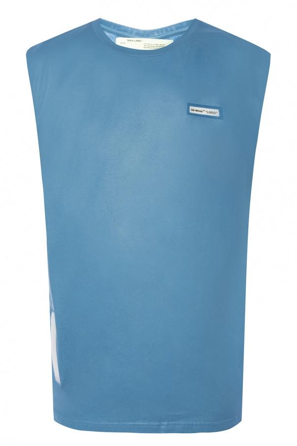 486f1f79b4297c Sleeveless T-shirt Off White - Vitkac shop online