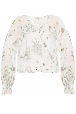 'penny' asymmetric shirt od AllSaints
