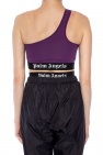 Asymmetrical swimsuit top od Palm Angels