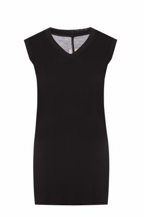 Raw-trimmed top od Rick Owens