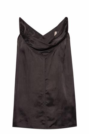 Draped tank top od Rick Owens
