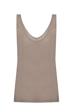 Cotton tank top od Rick Owens