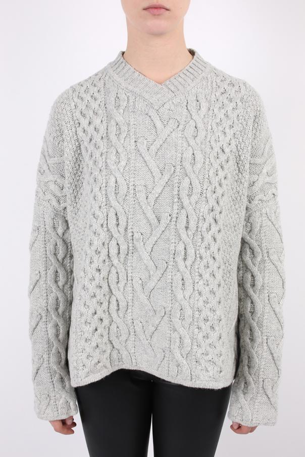 Patterned sweter typu 'oversized' od Lanvin