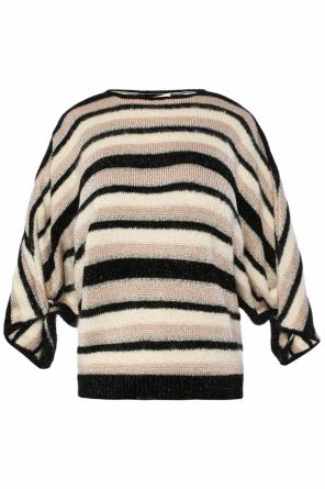 Cropped striped sweater od Lanvin