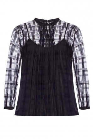 Pleated top od Just Cavalli